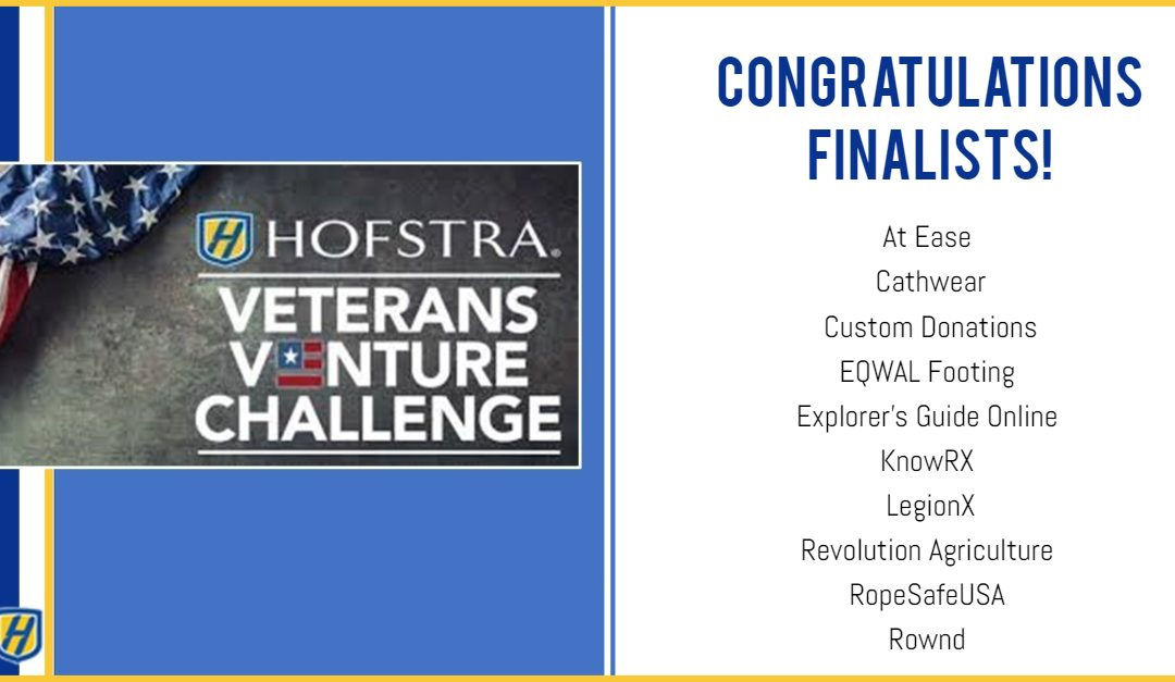 Explorer's Guide Online Selected as a Finalist in the Hofstra Veteran's Venture Challenge