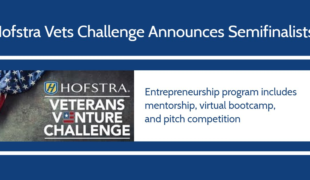Explorer's Guide Online Selected as a Semi-Finalist in the Hofstra Veteran's Venture Challenge
