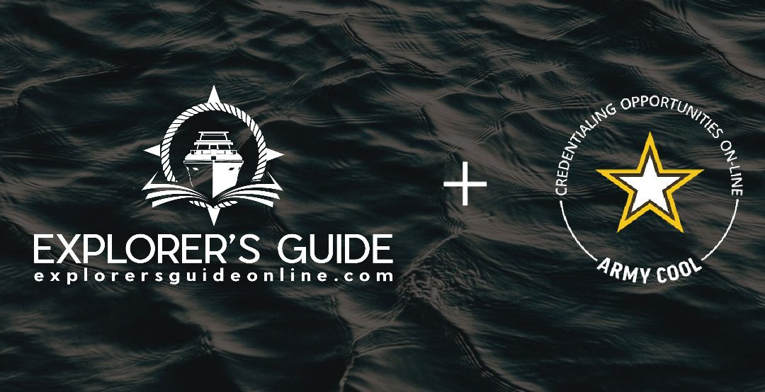 Army COOL Approves Explorer's Guide Online as Training Provider