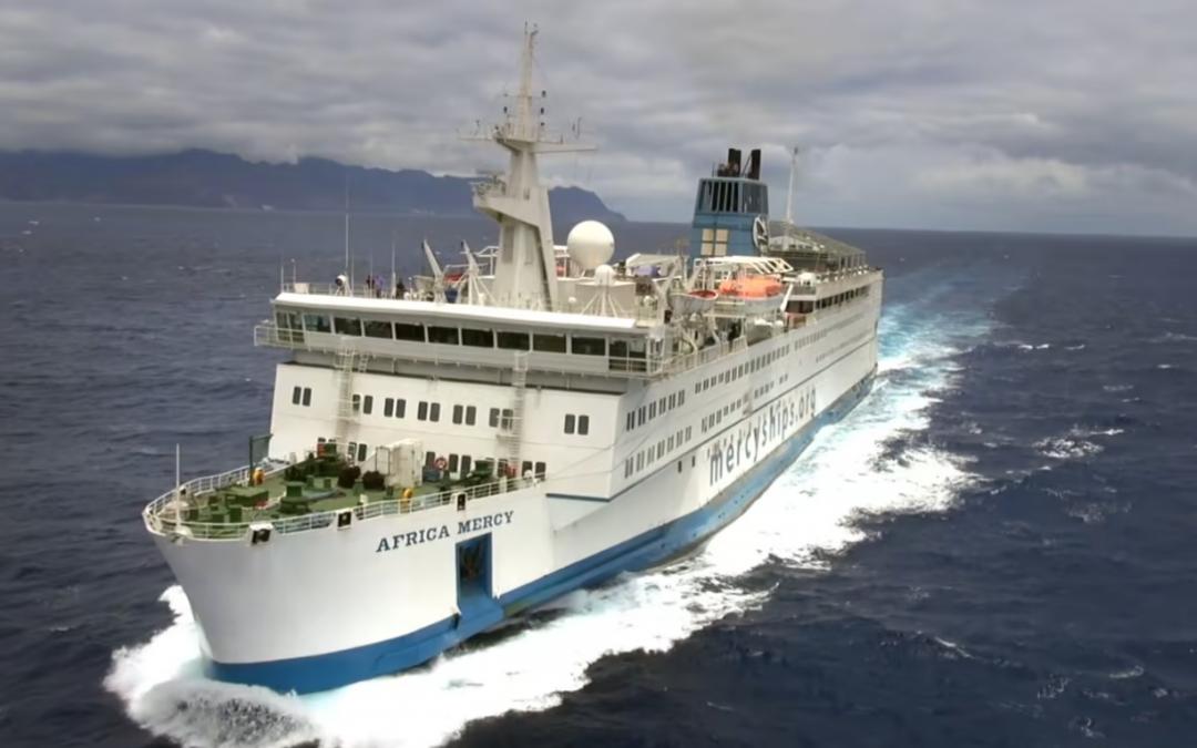EGO Donates to Mercy Ships!